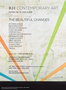 The beautiful changes, RH Contemporary Art, New York